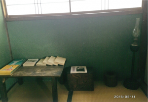井上靖が四高時代に詩作にふけった部屋