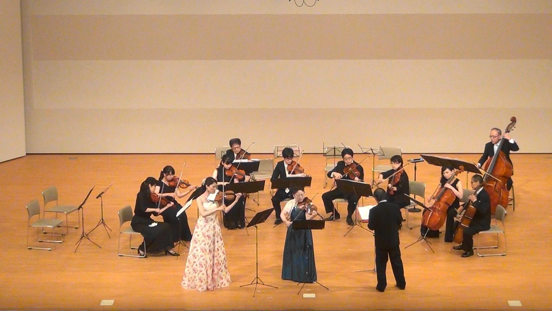 バッハ:2つのヴァイオリンのための協奏曲