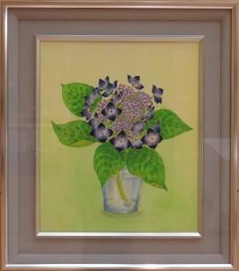 小西ひろみ「紫陽花」